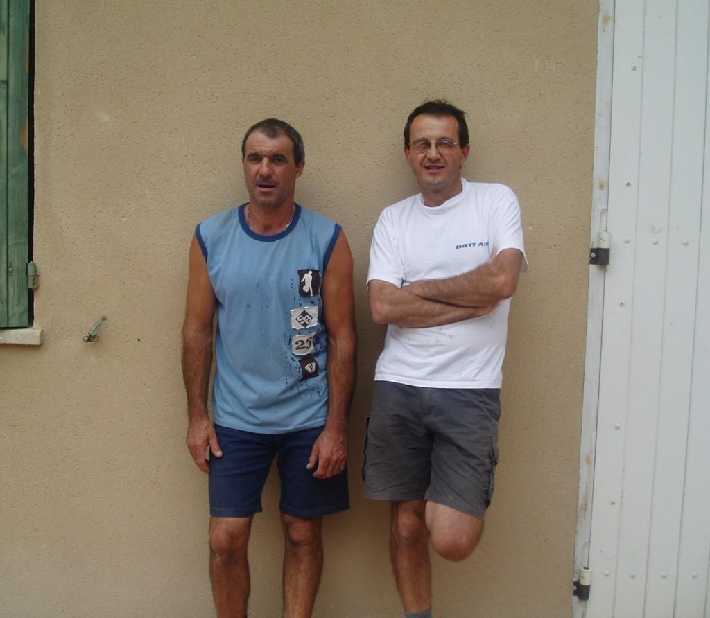 The Faravel brothers at Domaine de la Bouïssière